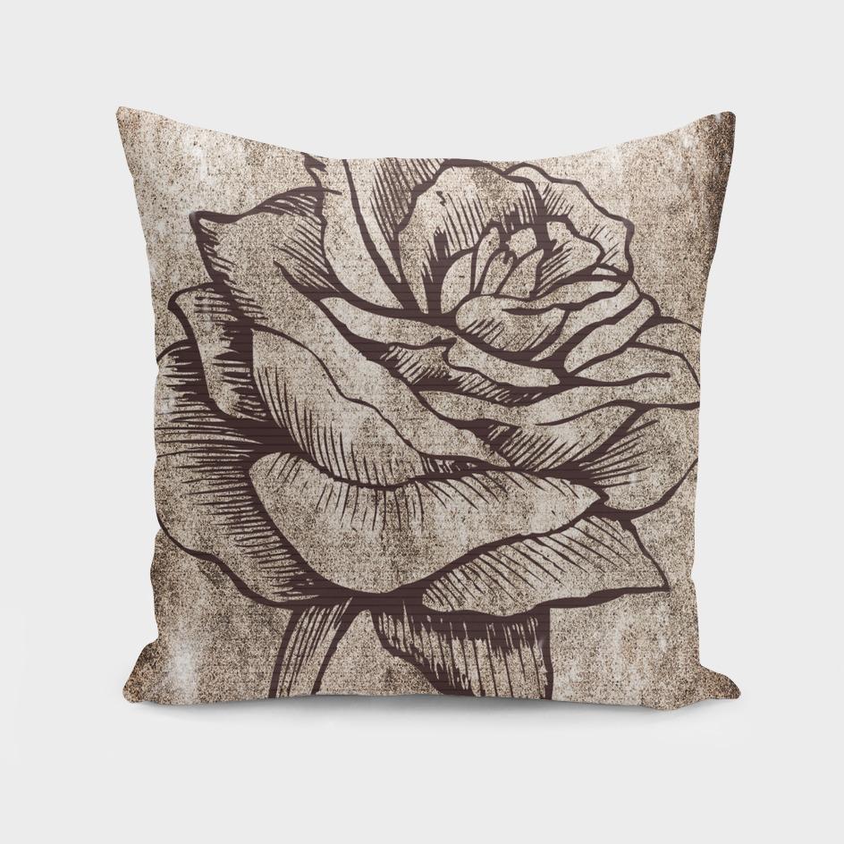 rose background flower blossom
