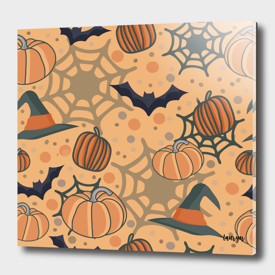 Halloween pattern