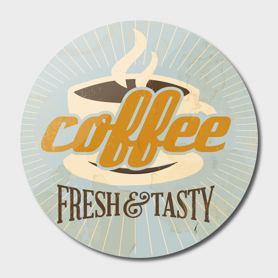 Coffee Poster 3 - Fresh Tasty