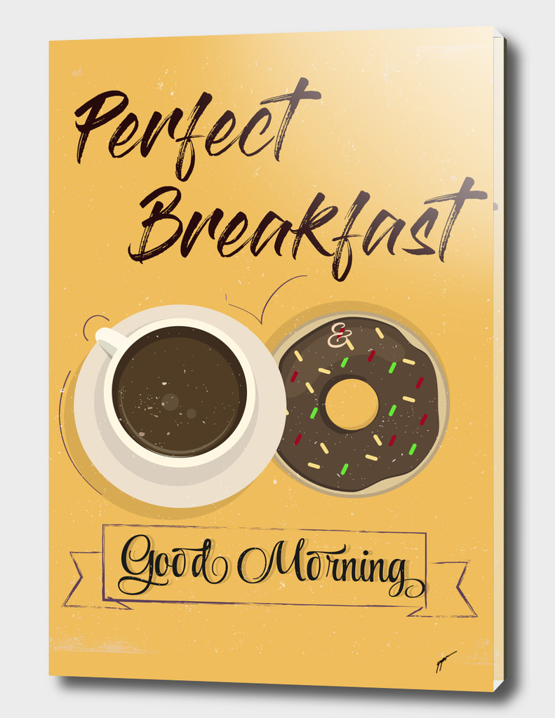 Coffee Poster 4 - Perfect Breakfast