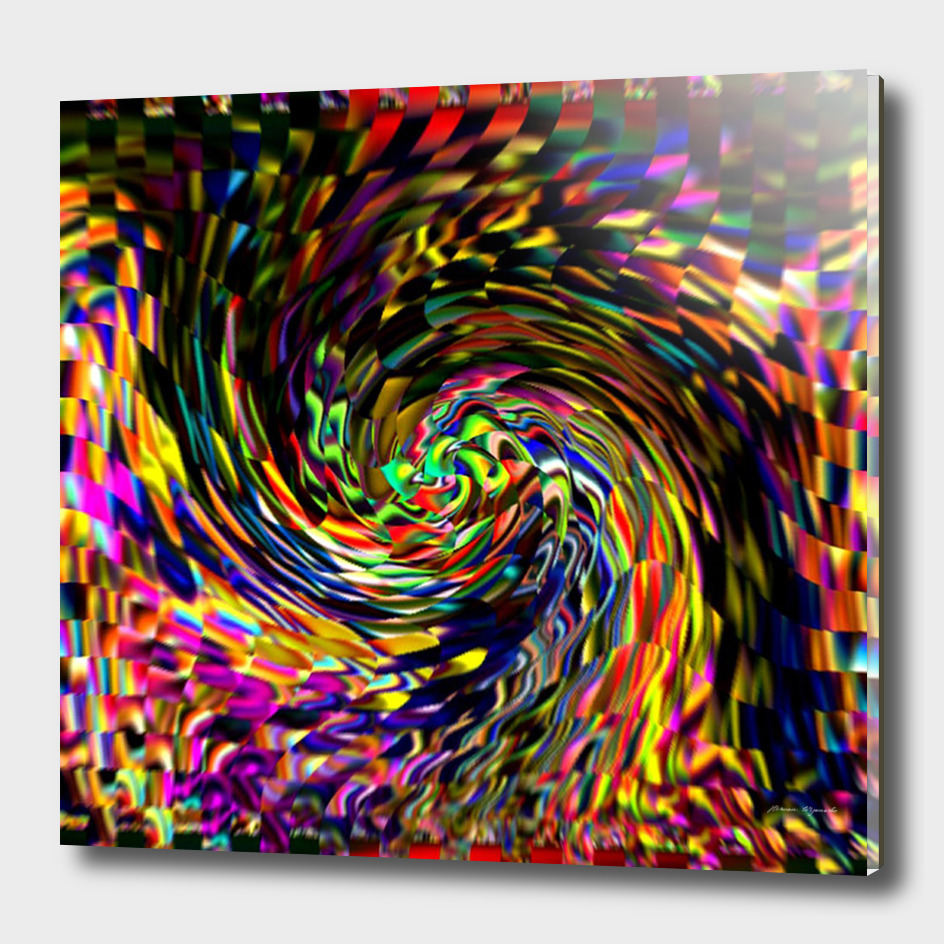 Abstract Art Colorful Texture