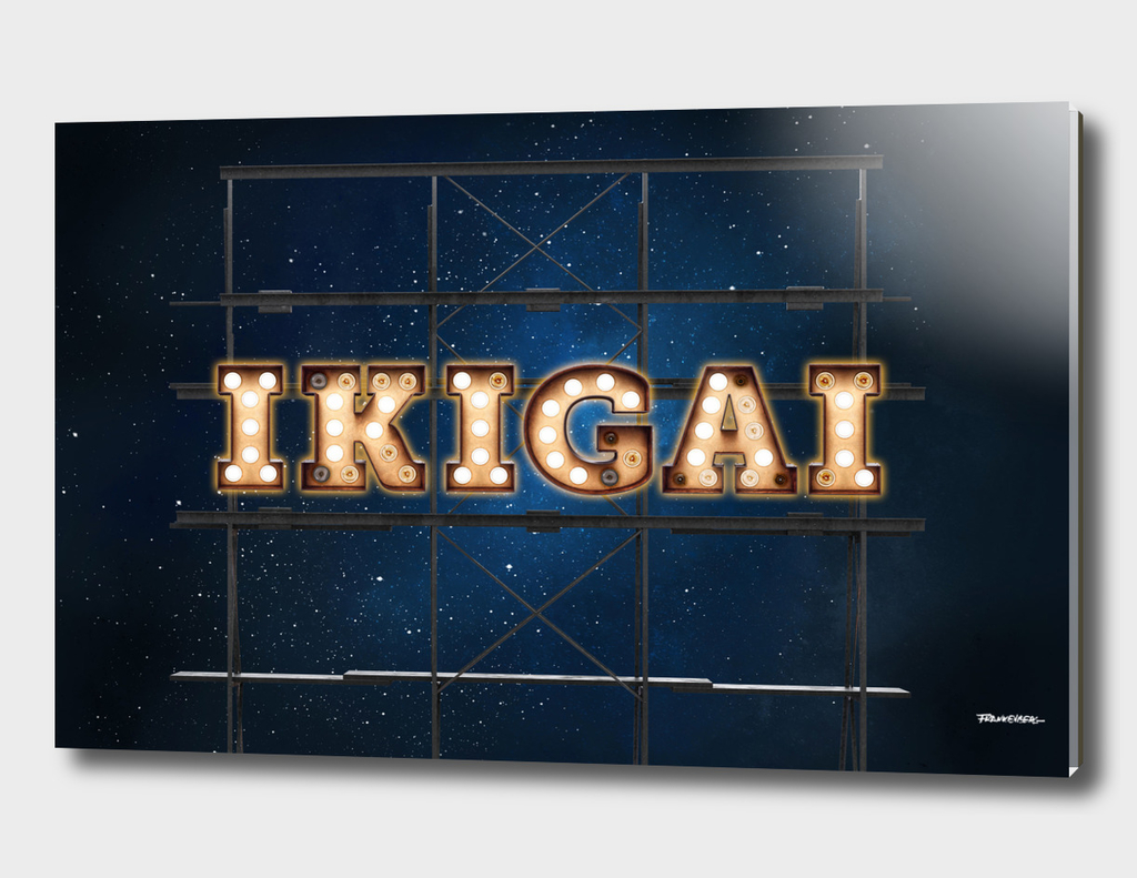 IKIGAI - Hotel -  Wall-Art for Hotel-Rooms