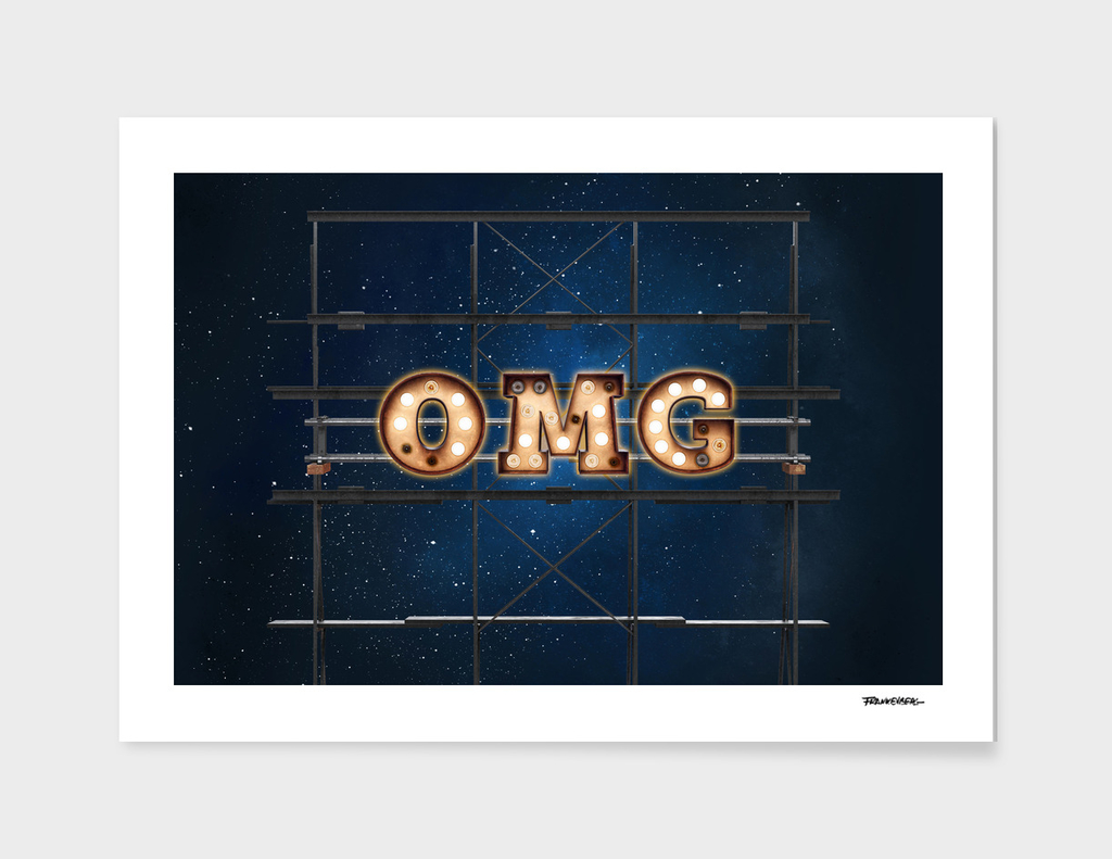 OMG  - Hotel - Wall-Art for Hotel-Rooms