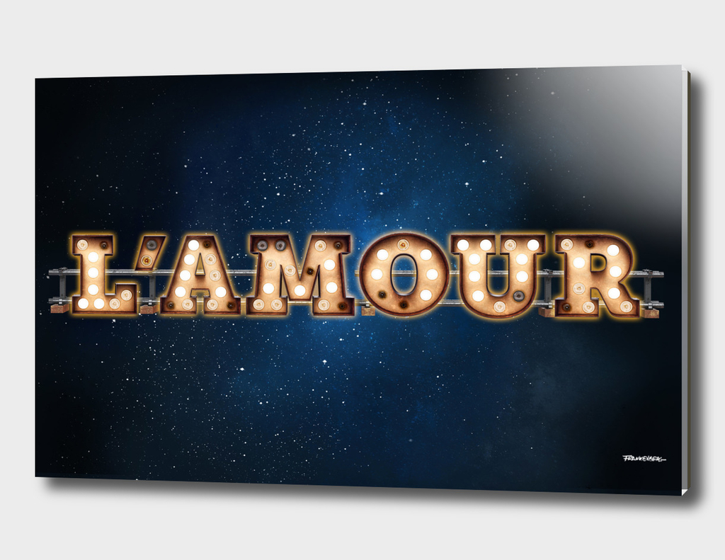 L'Amour -  Wall-Art for Hotel-Rooms