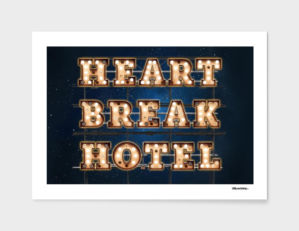 HeartBreak Hotel  -  Wall-Art for Hotel-Rooms