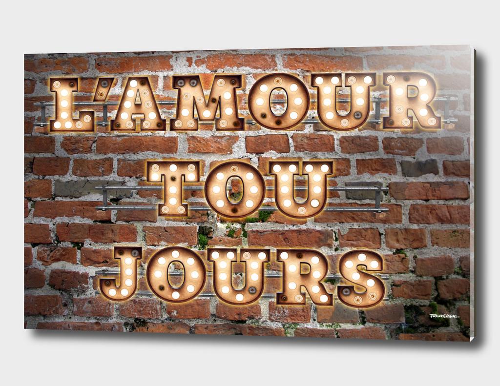 L'Amour Toujours - Brick