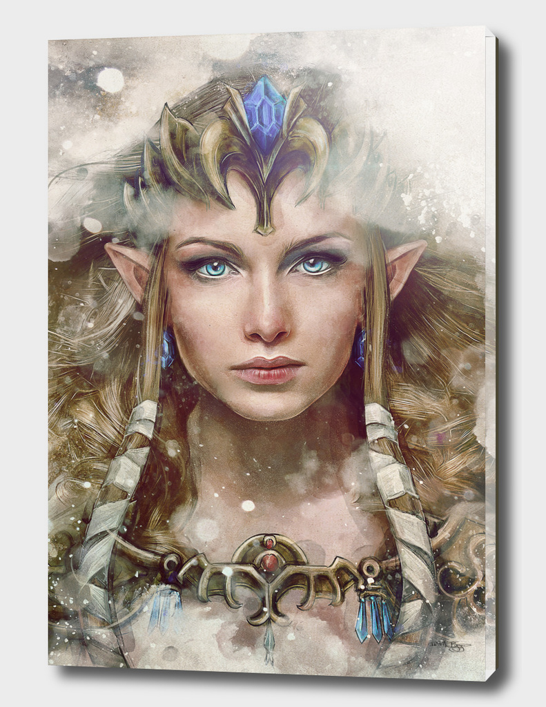 Epic Princess Zelda Portrait