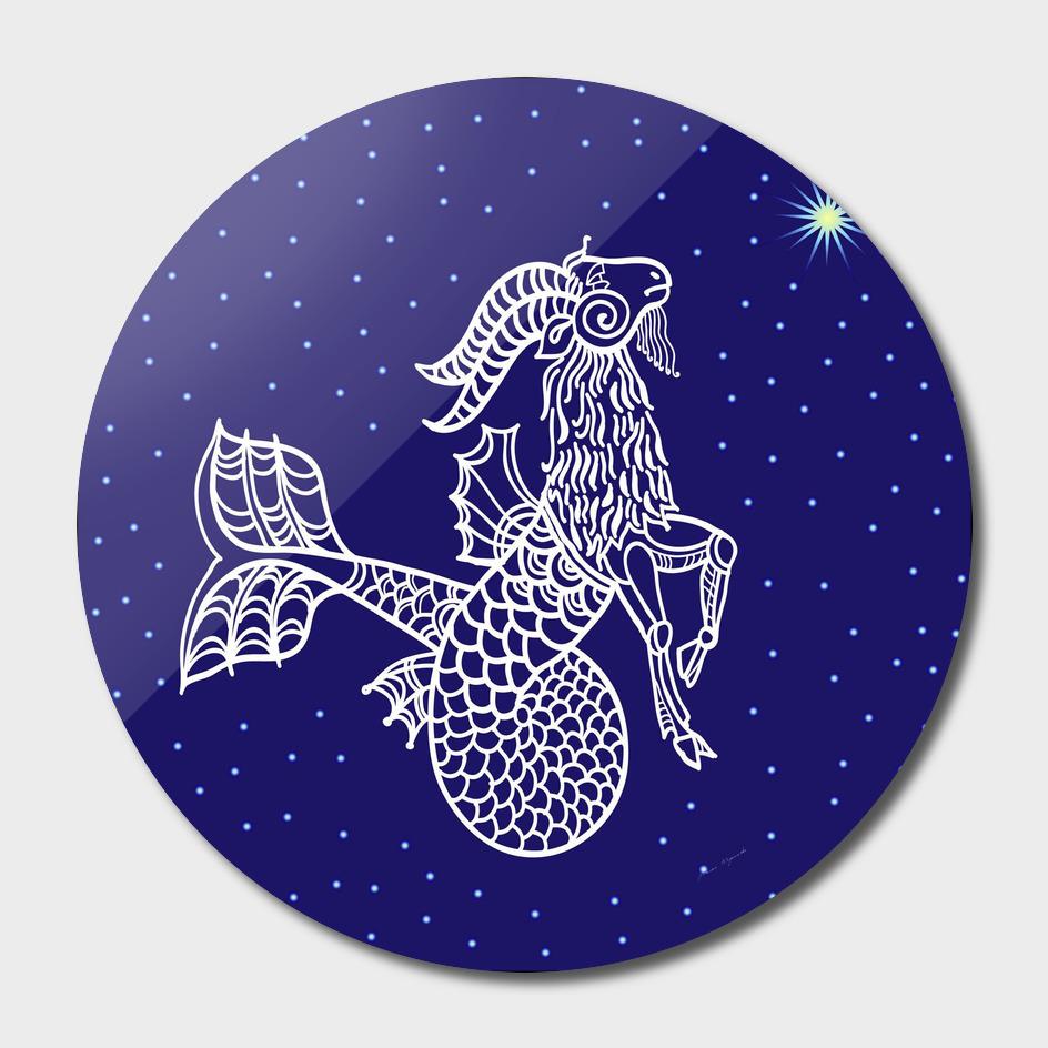 Capricorn zodiac star