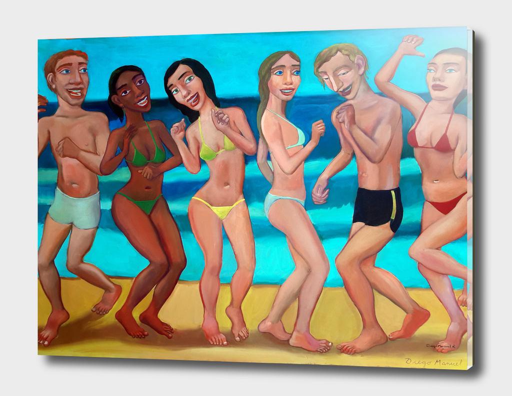 Fiesta en la playa 5