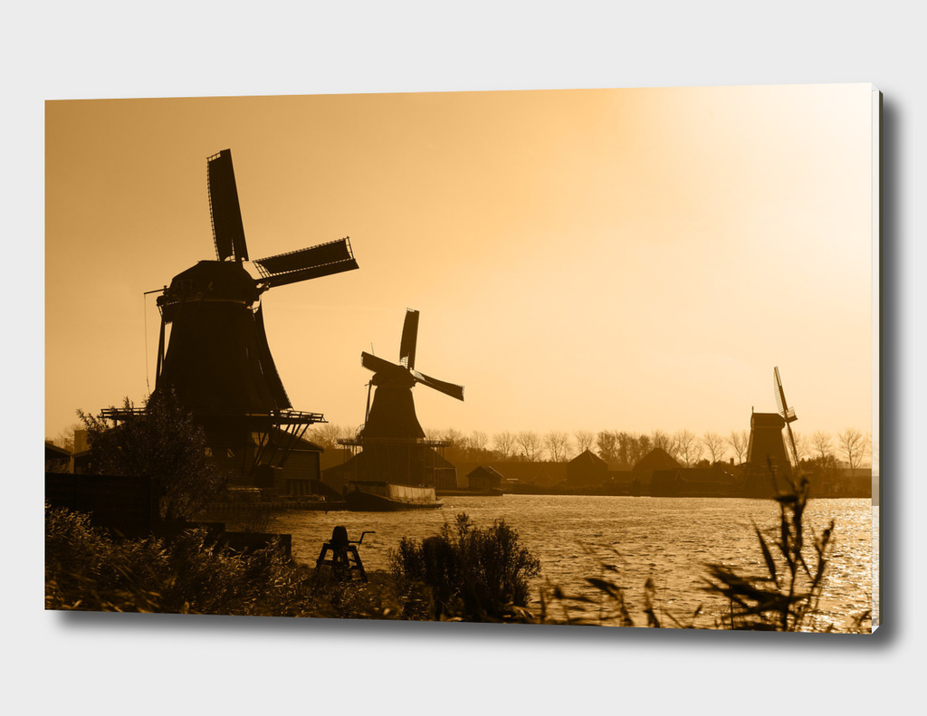 Dutch Landscape at Dusk