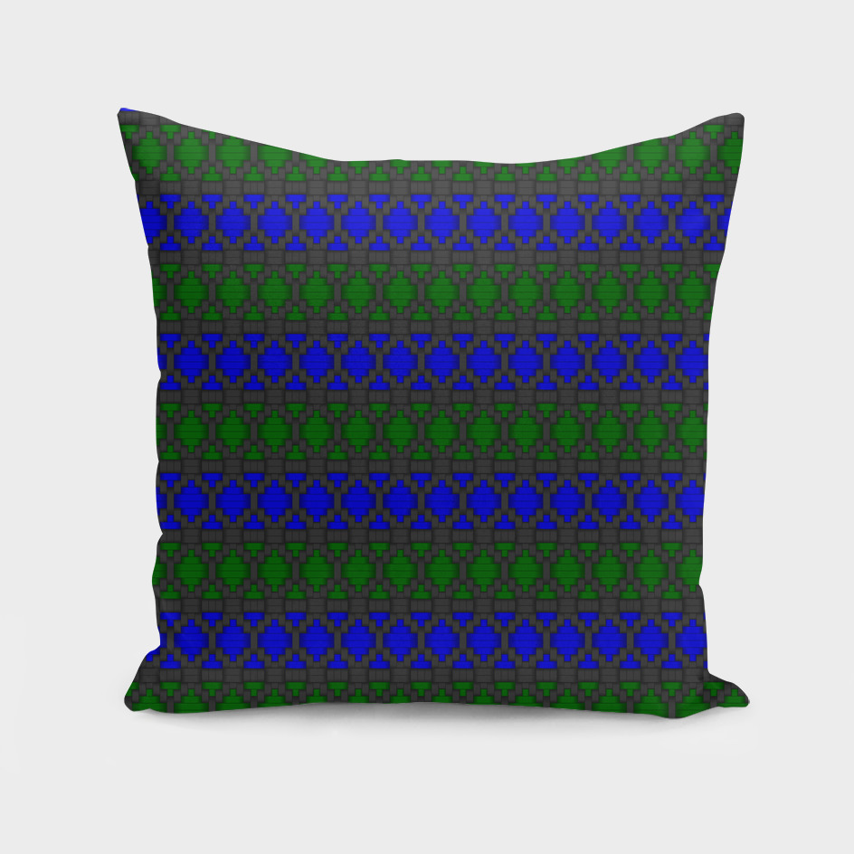 Diamond Alt Blue Green woven fabric