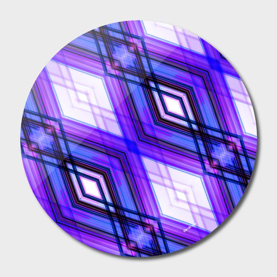 Blockchain 02 - Geometric Minimalism Art