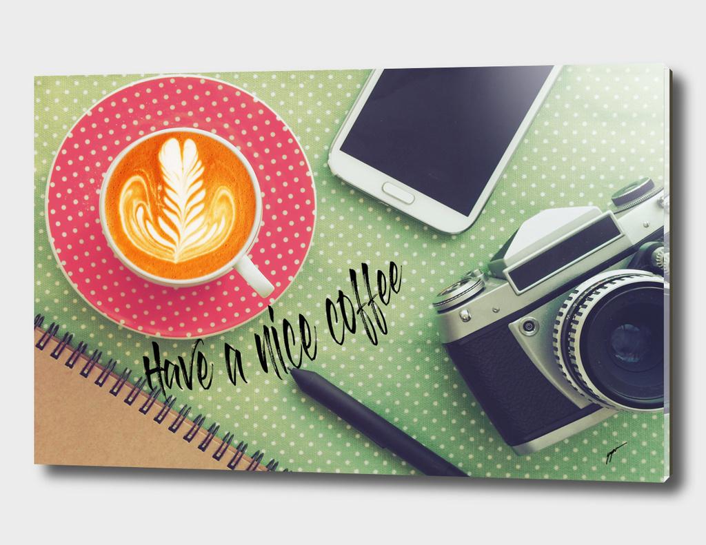 Coffee Poster 7 - Nice Coffee