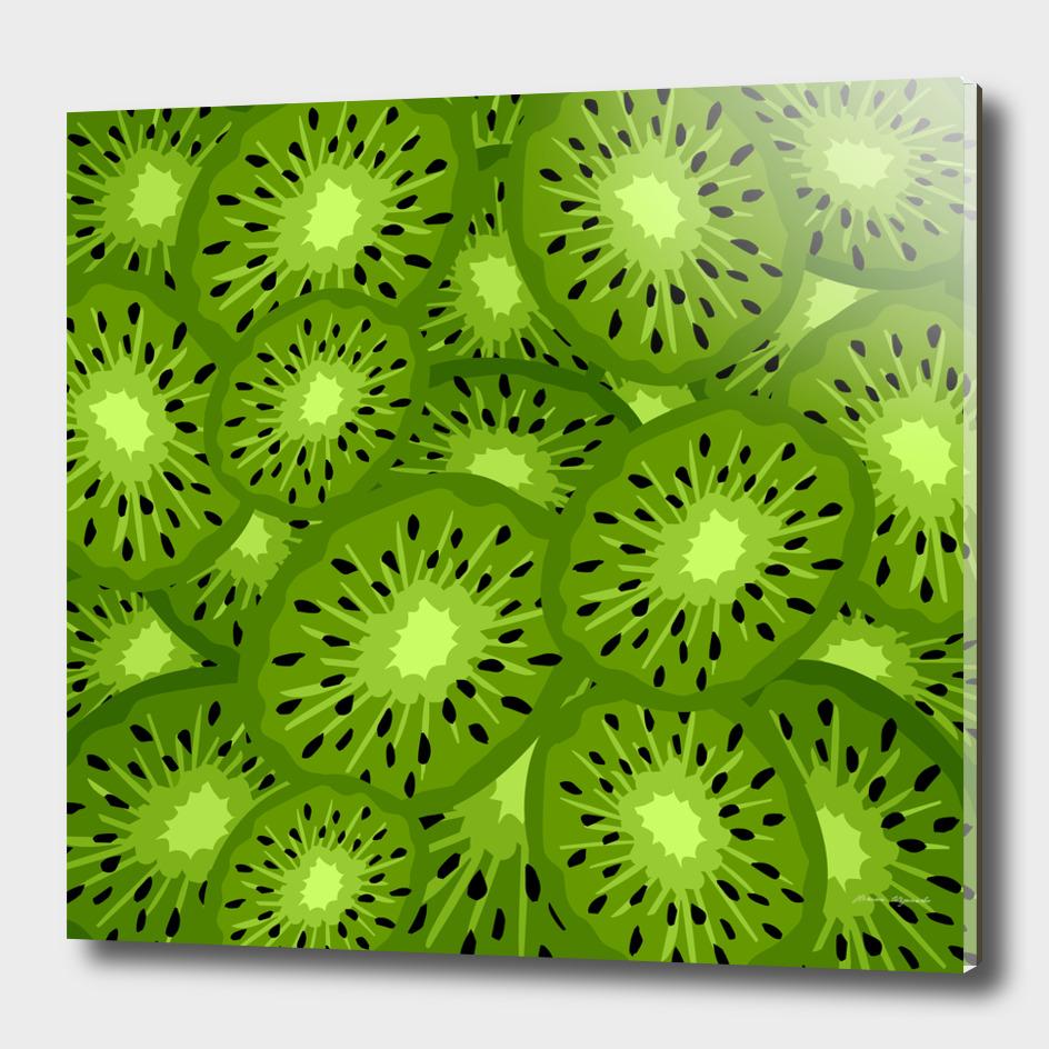 fruit Kiwi green