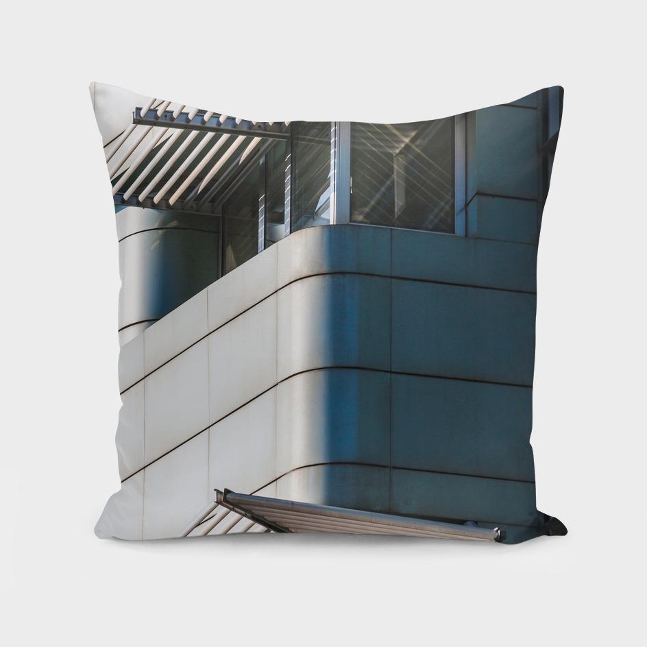 Windows of a modern building