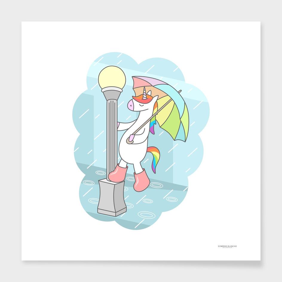 Unicorn Singin In The Rain