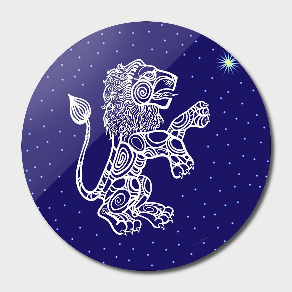 Leo zodiac star