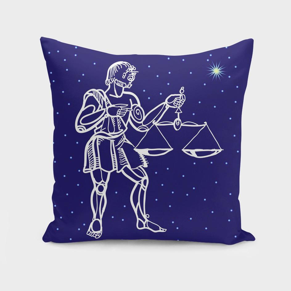 Libra zodiac star