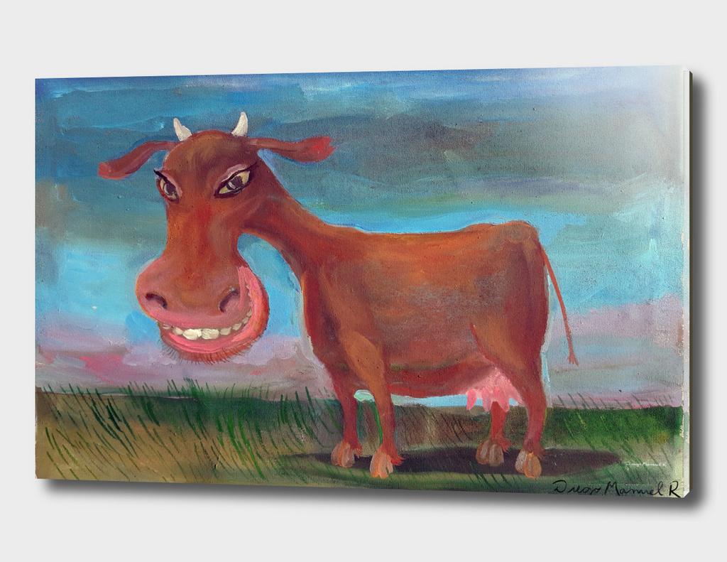 Vaca marrón