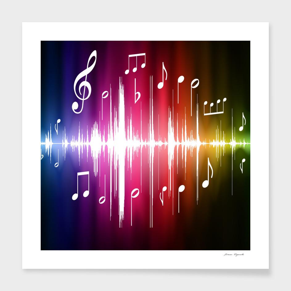 music data science line