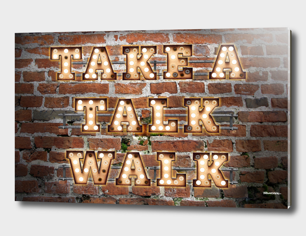 Take a Talk Walk - Brick