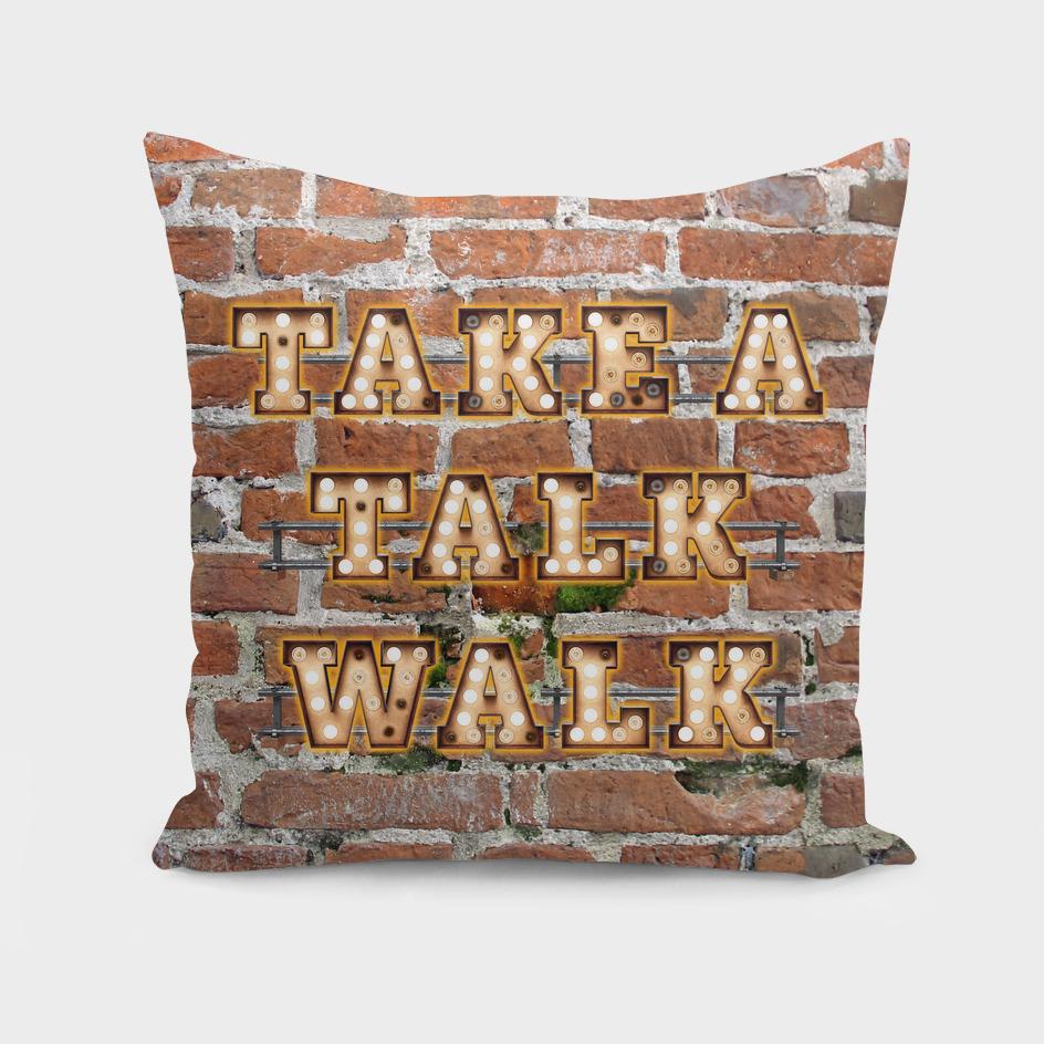 Take a Talk Walk - Brick