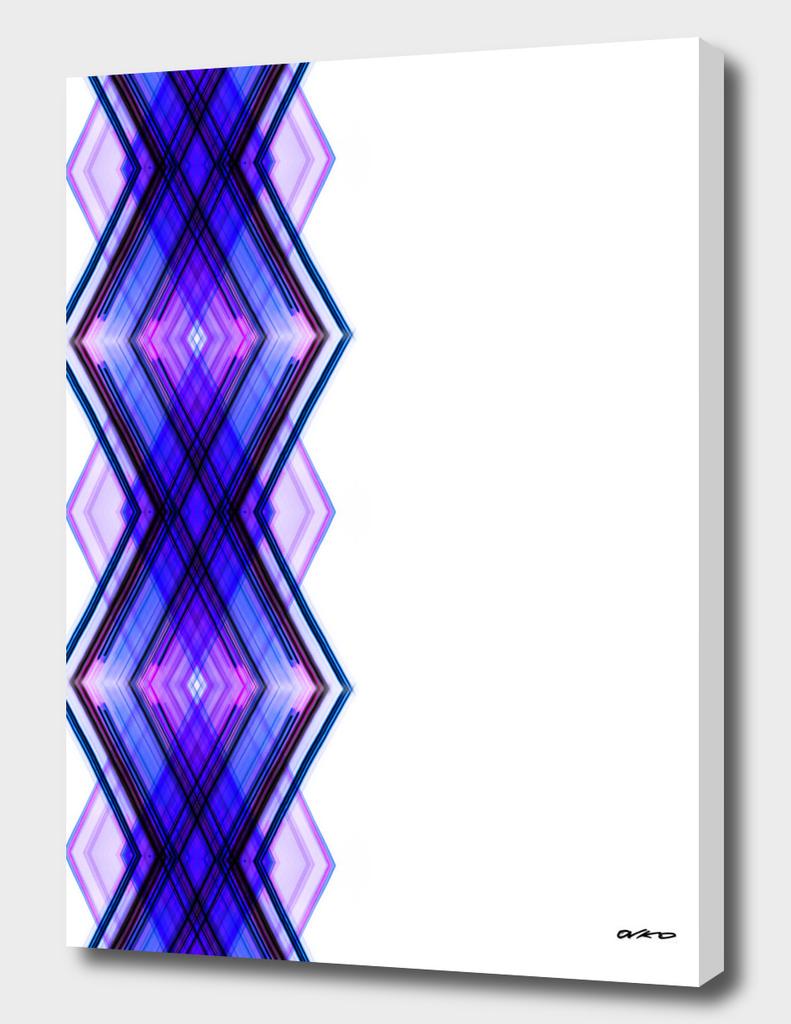 Digital Helix 02 - Geometric Minimalism Art