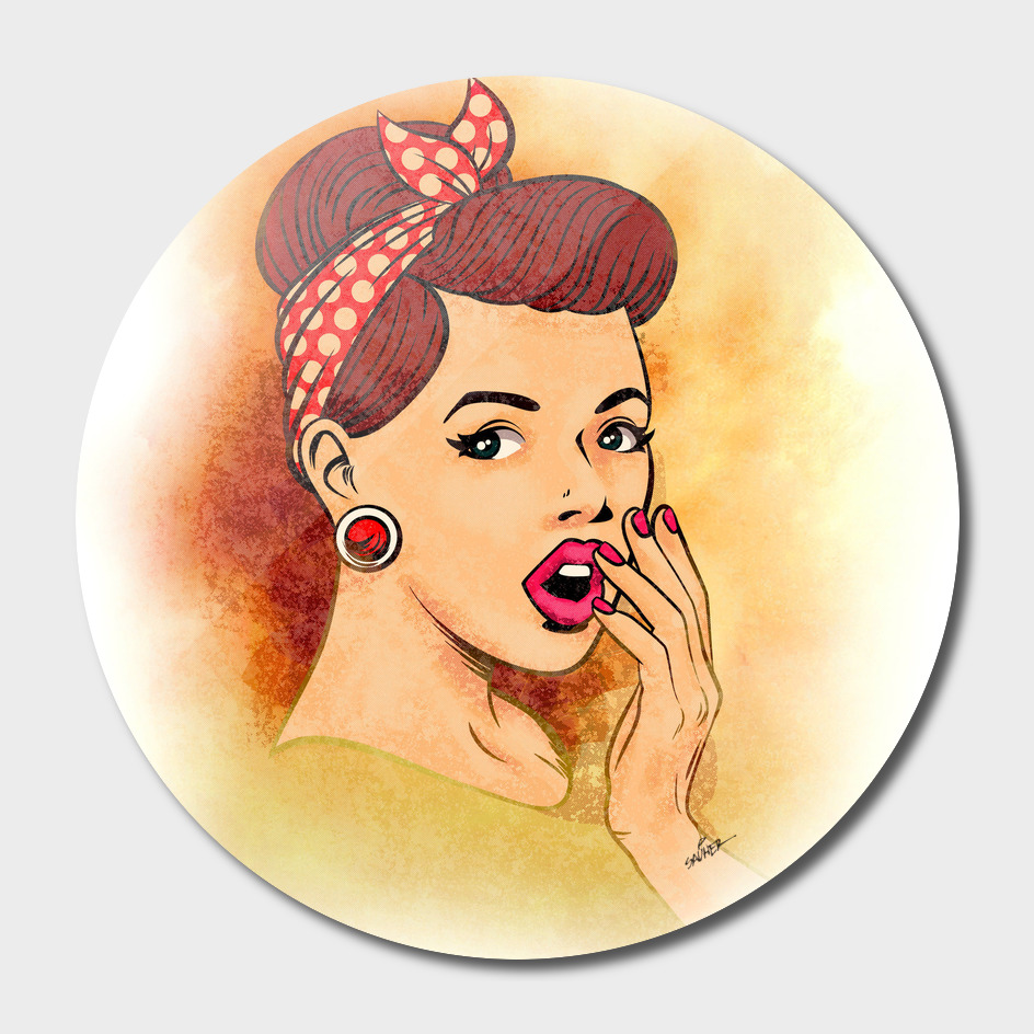 Vintage Pin-up Girl
