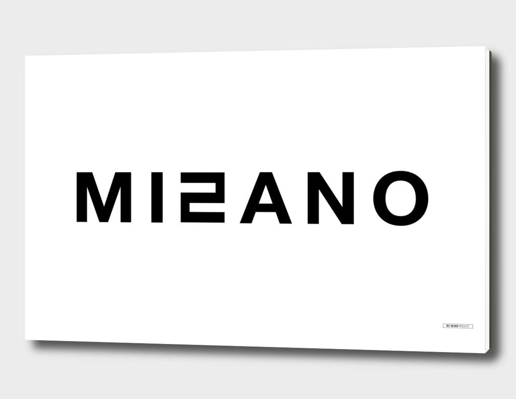 Typo_MILANO