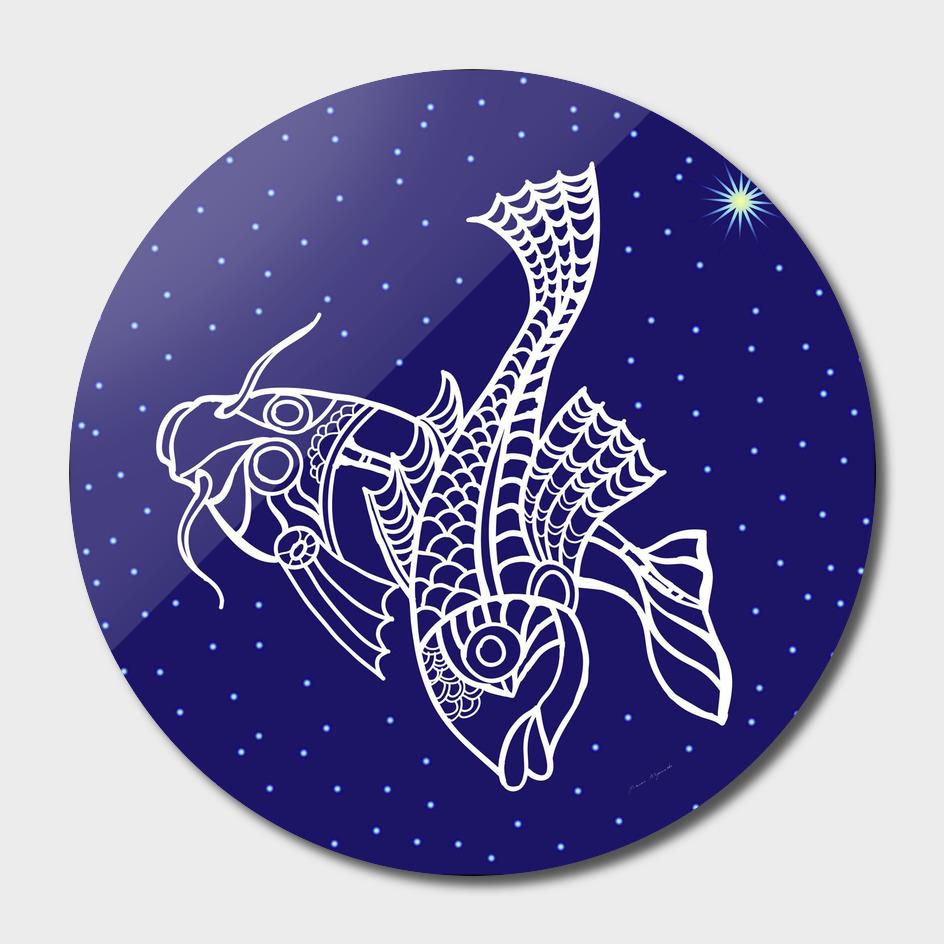 Pisces zodiac star