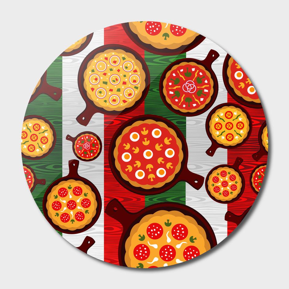 pizza italia beef flag