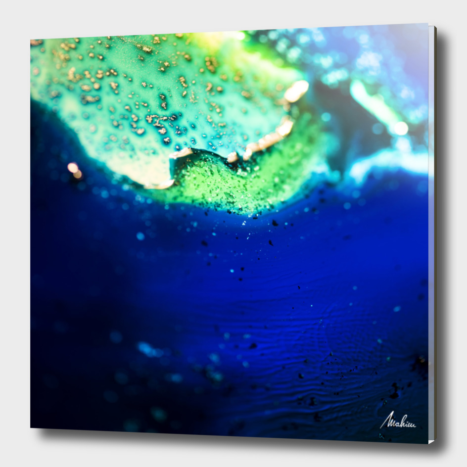 The Blue Lake Shore (detail 1)