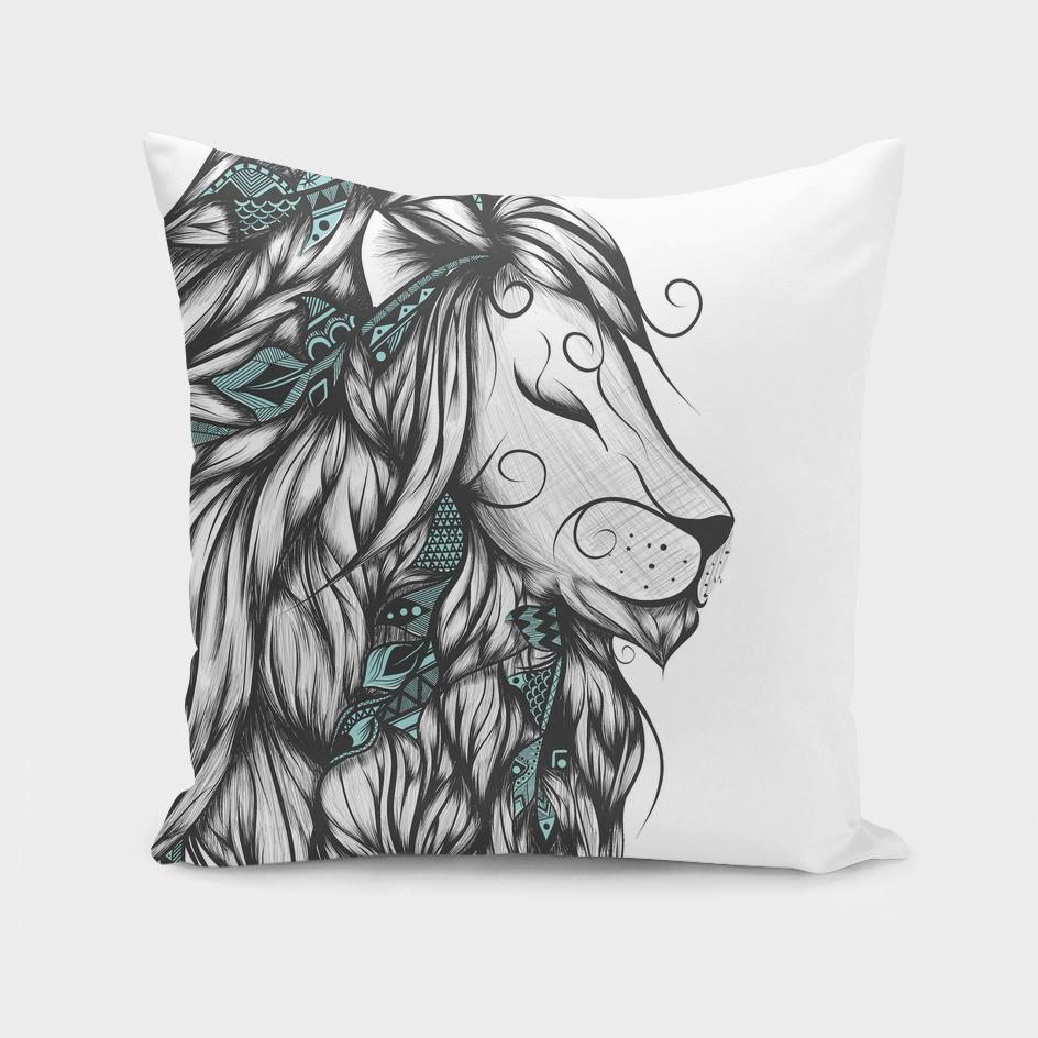 Poetic Lion Turquoise