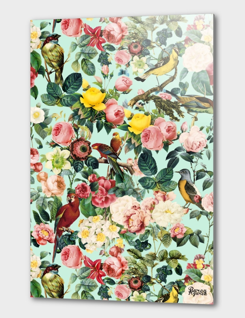 Floral and Birds III