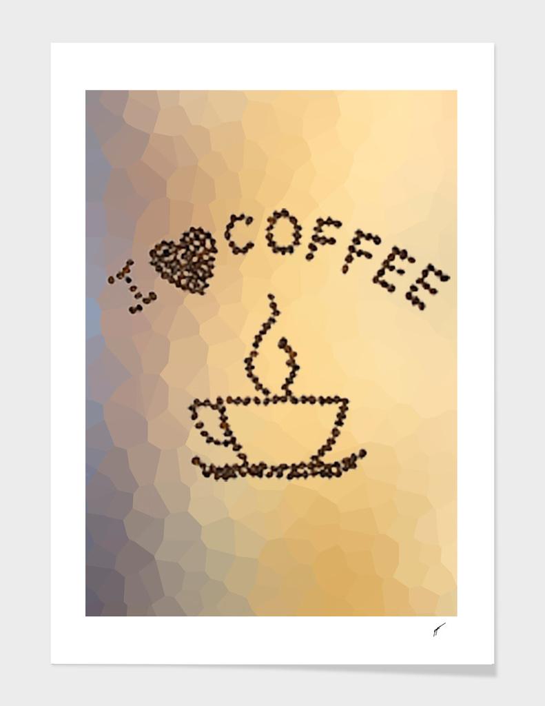 Coffee Poster 10 - Love Coffee