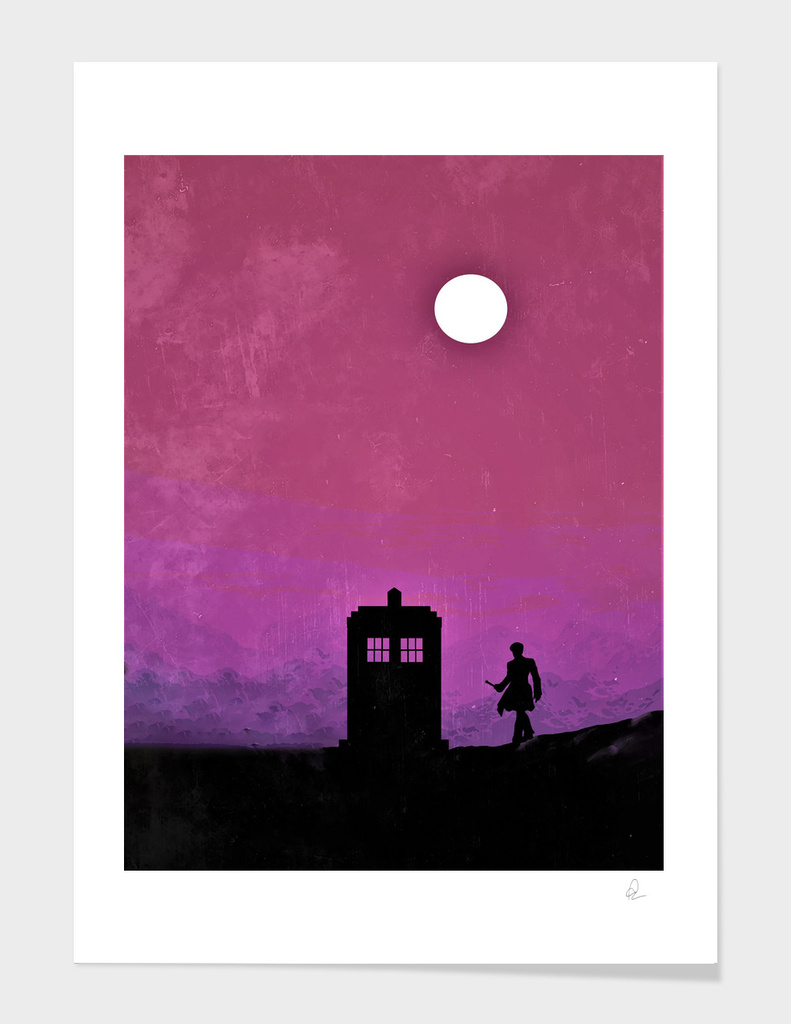 Doctor Who Vintage Poster