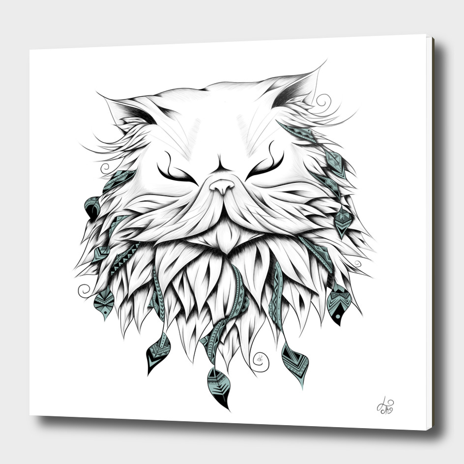 Poetic Persian Cat