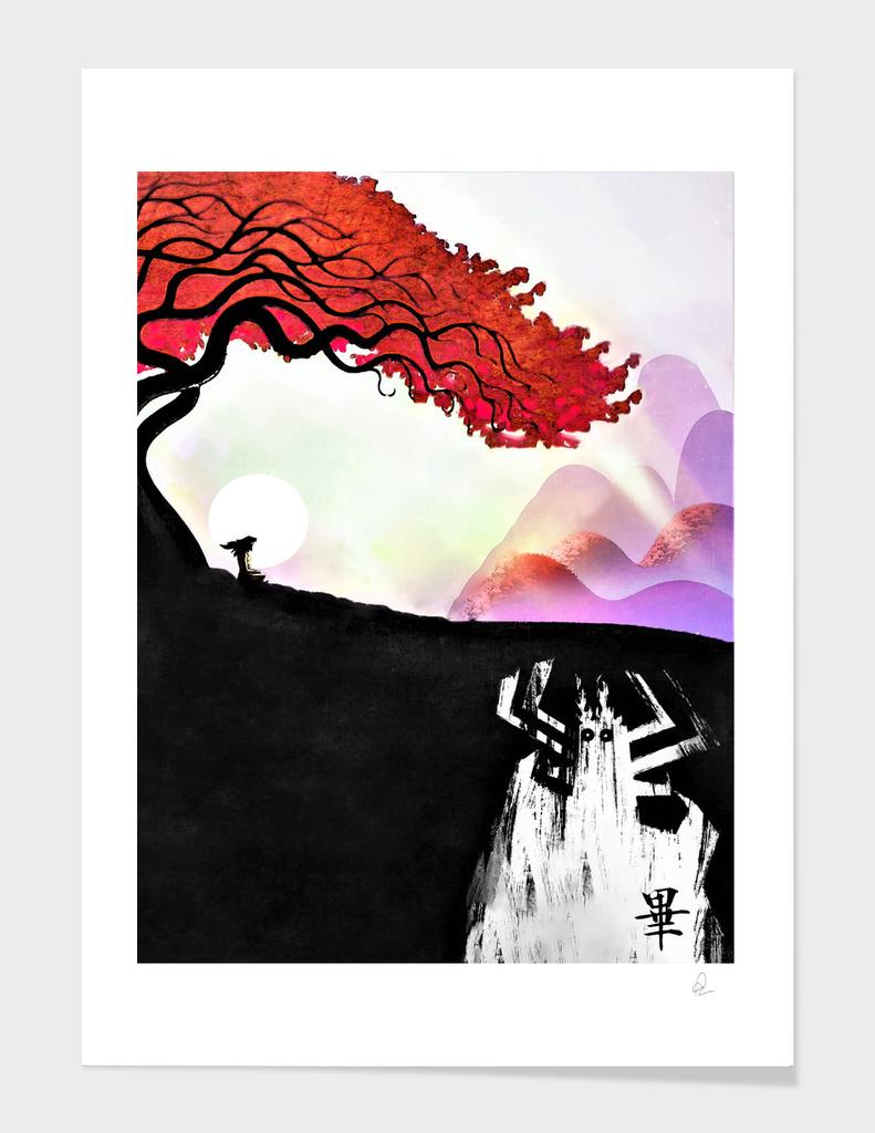 Samurai Jack Vintage Poster