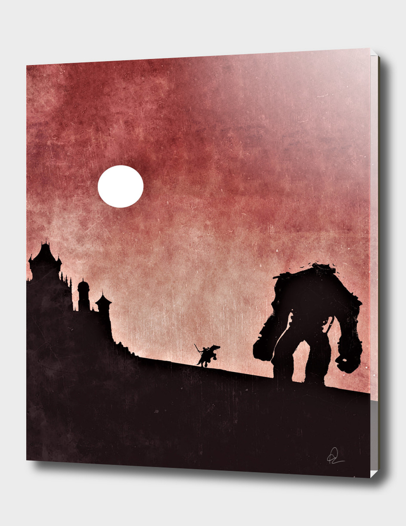 Shadow of the Colossus Vintage Poster