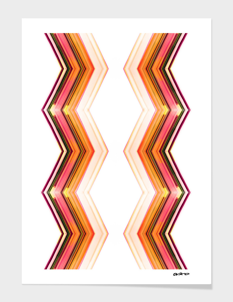 Side by Side - Futuristic Minimal Art