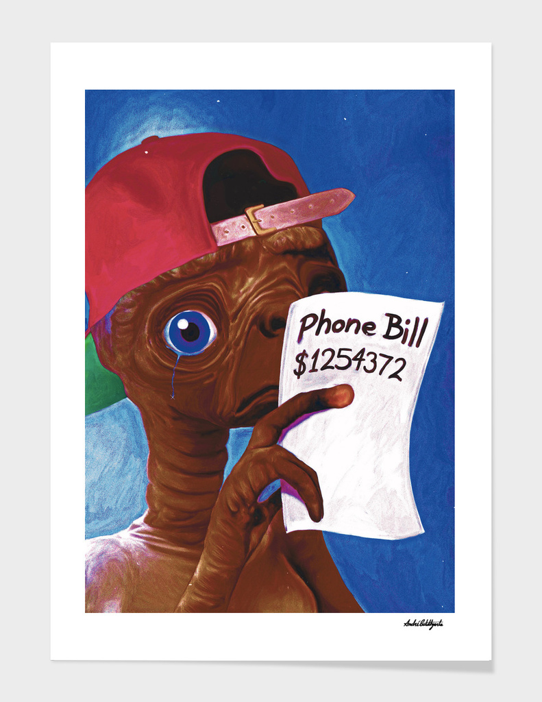 ET's Phone Bill