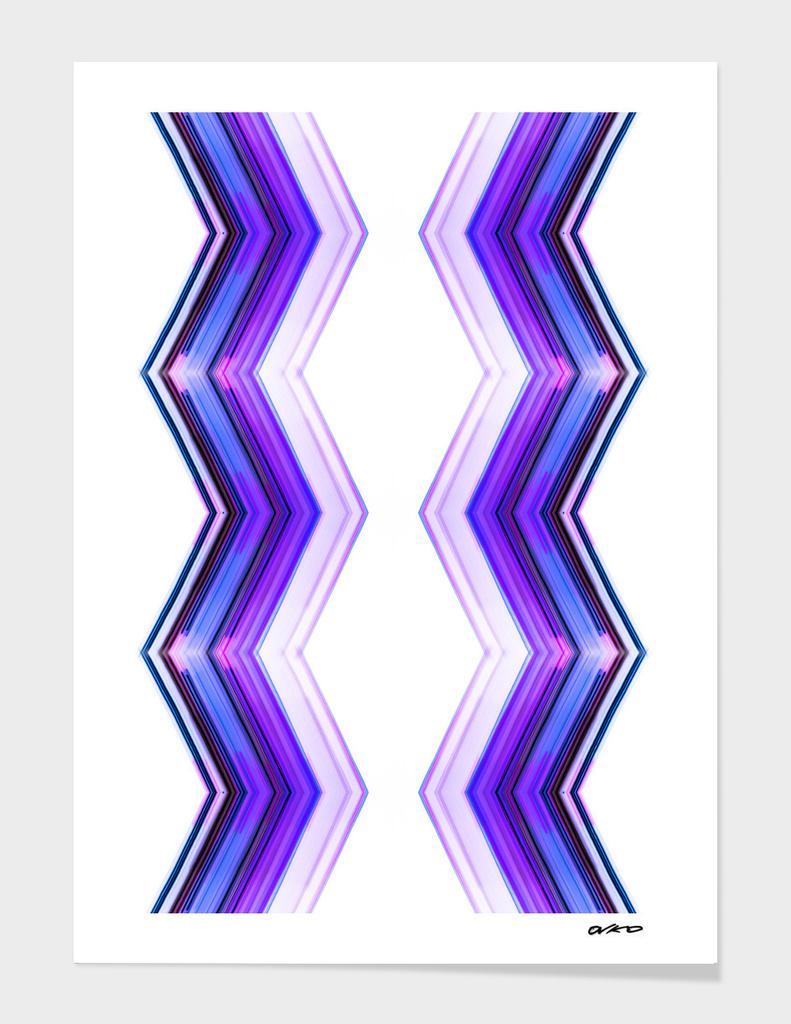 Side by Side - Geometric Minimalism Art