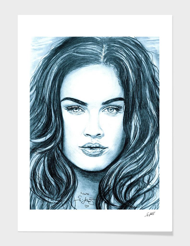 Megan In Ice Blue