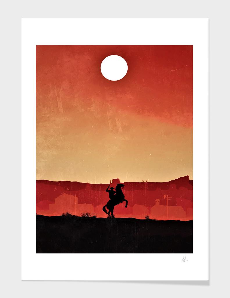 Red Dead Redemption Vintage Poster