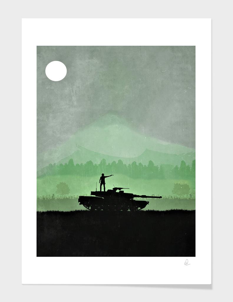 The Walking Dead Vintage Poster