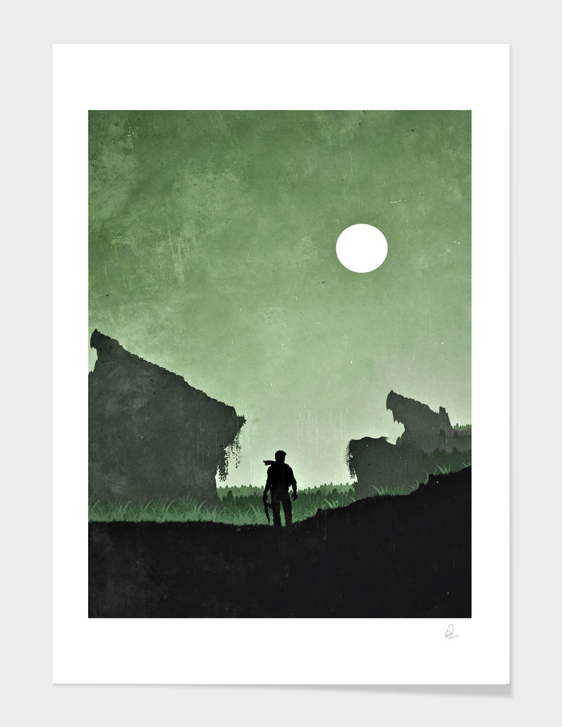 Uncharted Vintage Poster