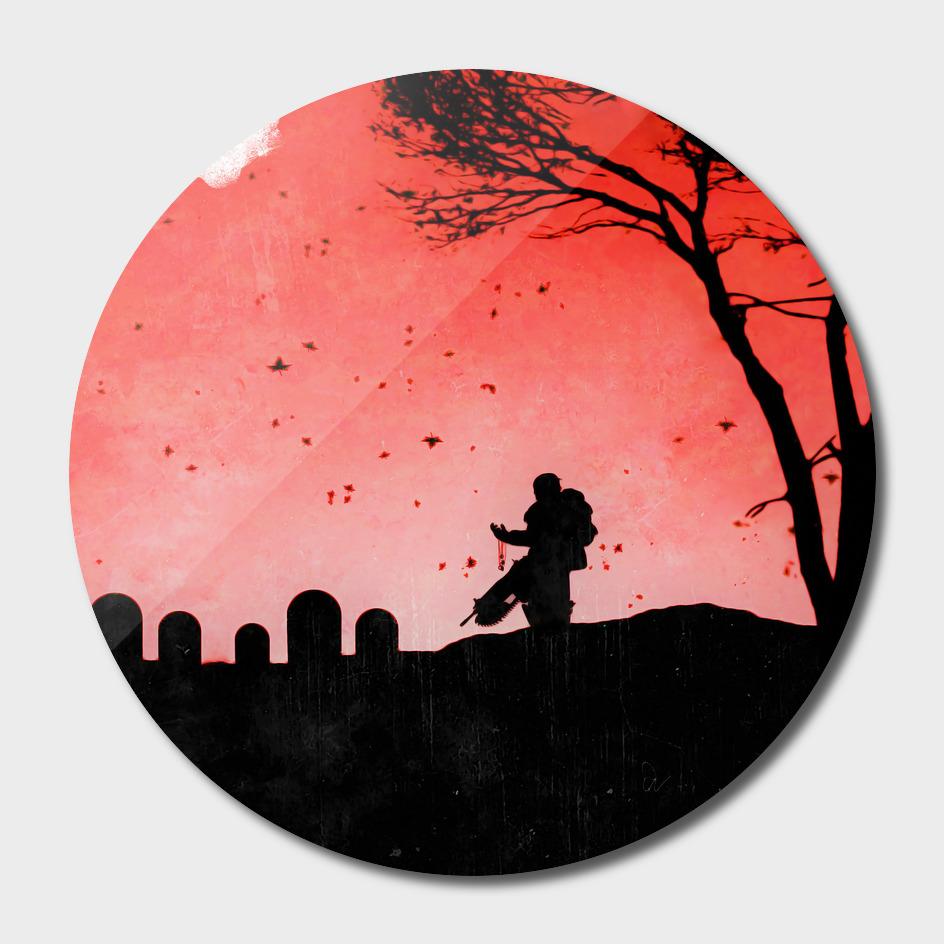 Gears of War *The Last Goodbye* Vintage Poster