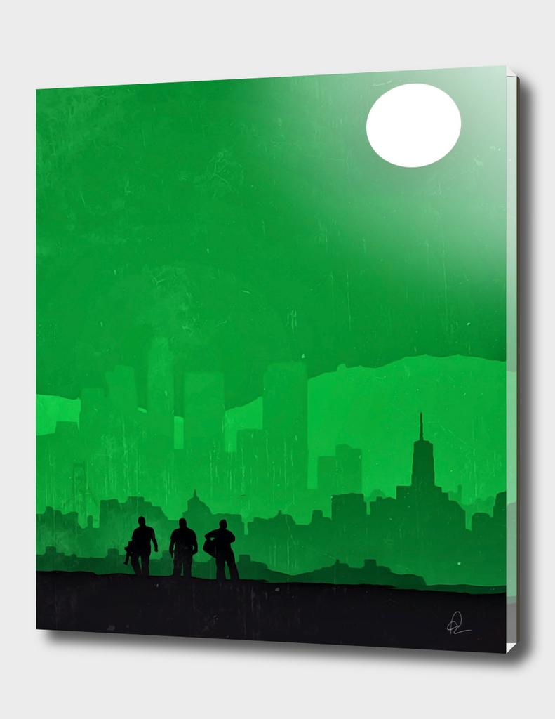 Grand Theft Auto (GTA) Vintage Poster