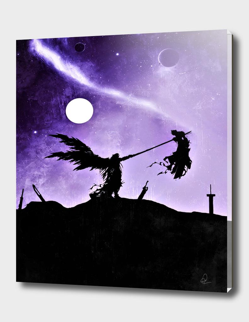 Final Fantasy Vintage Poster