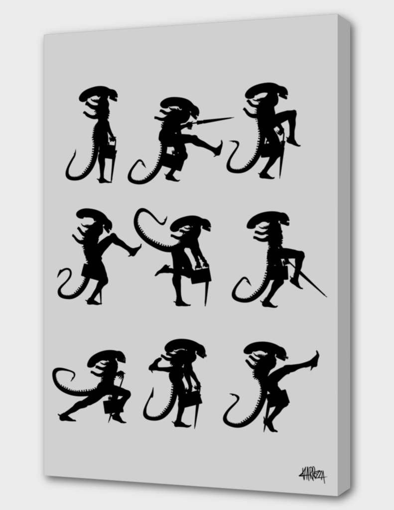 Ministry of Silly Alien Walks